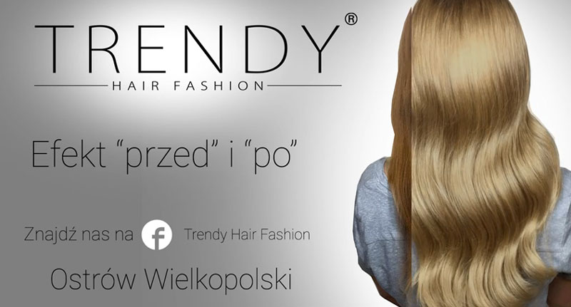 Film reklamowy Trendy Hair Fashion